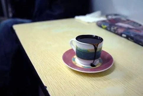 Serve Turkish Coffee