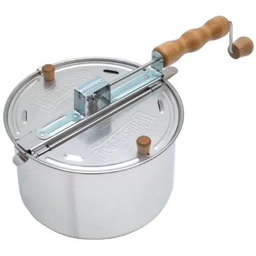 whirley pop popcorn roaster