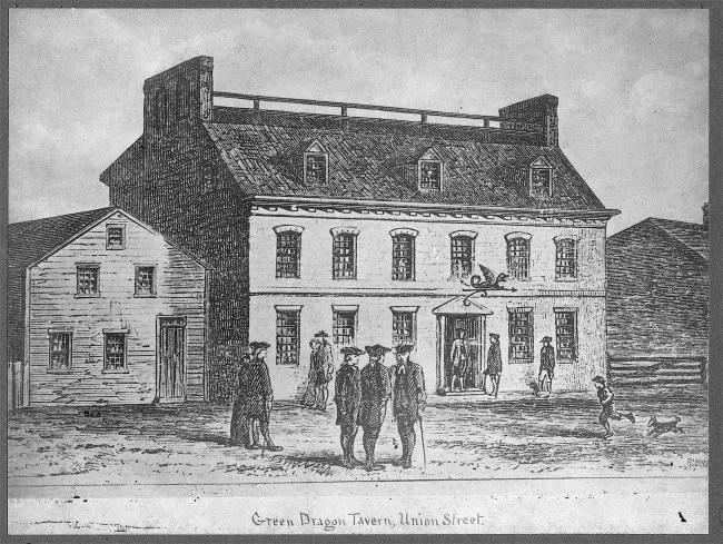 Green Dragon tavern - Boston