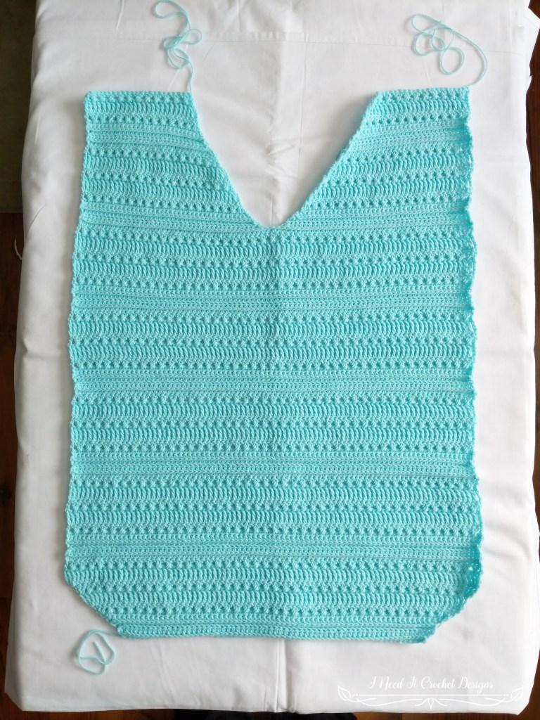 Fran's V Neck Blouse - Free Crochet Pattern
