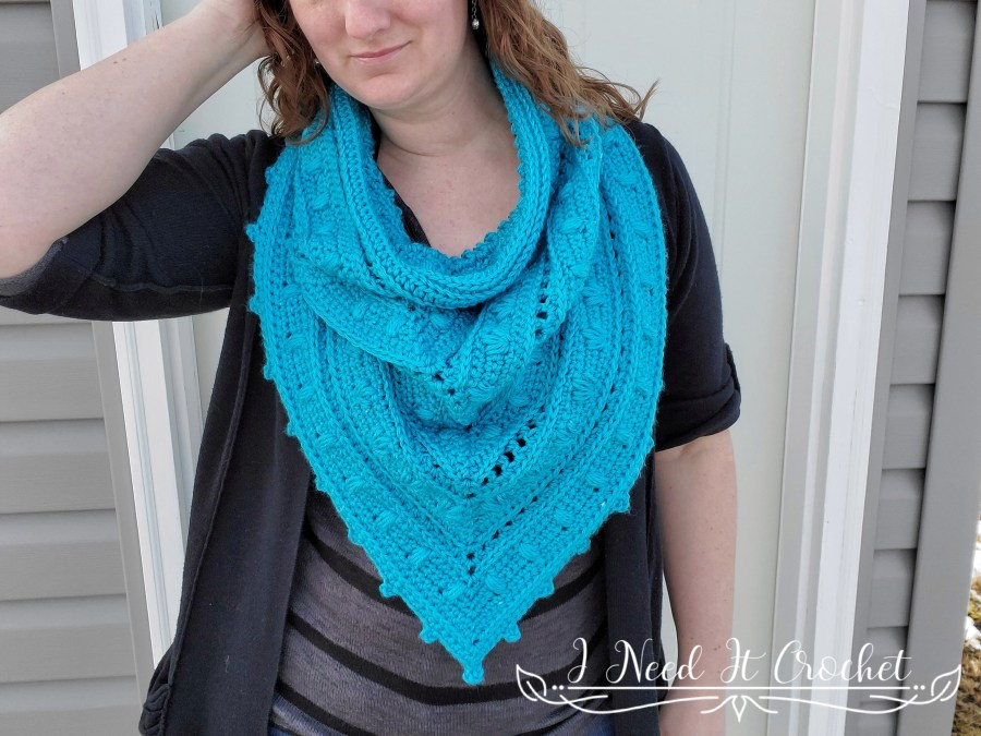 Spring Blooms Bandana Cowl - Free Crochet Pattern