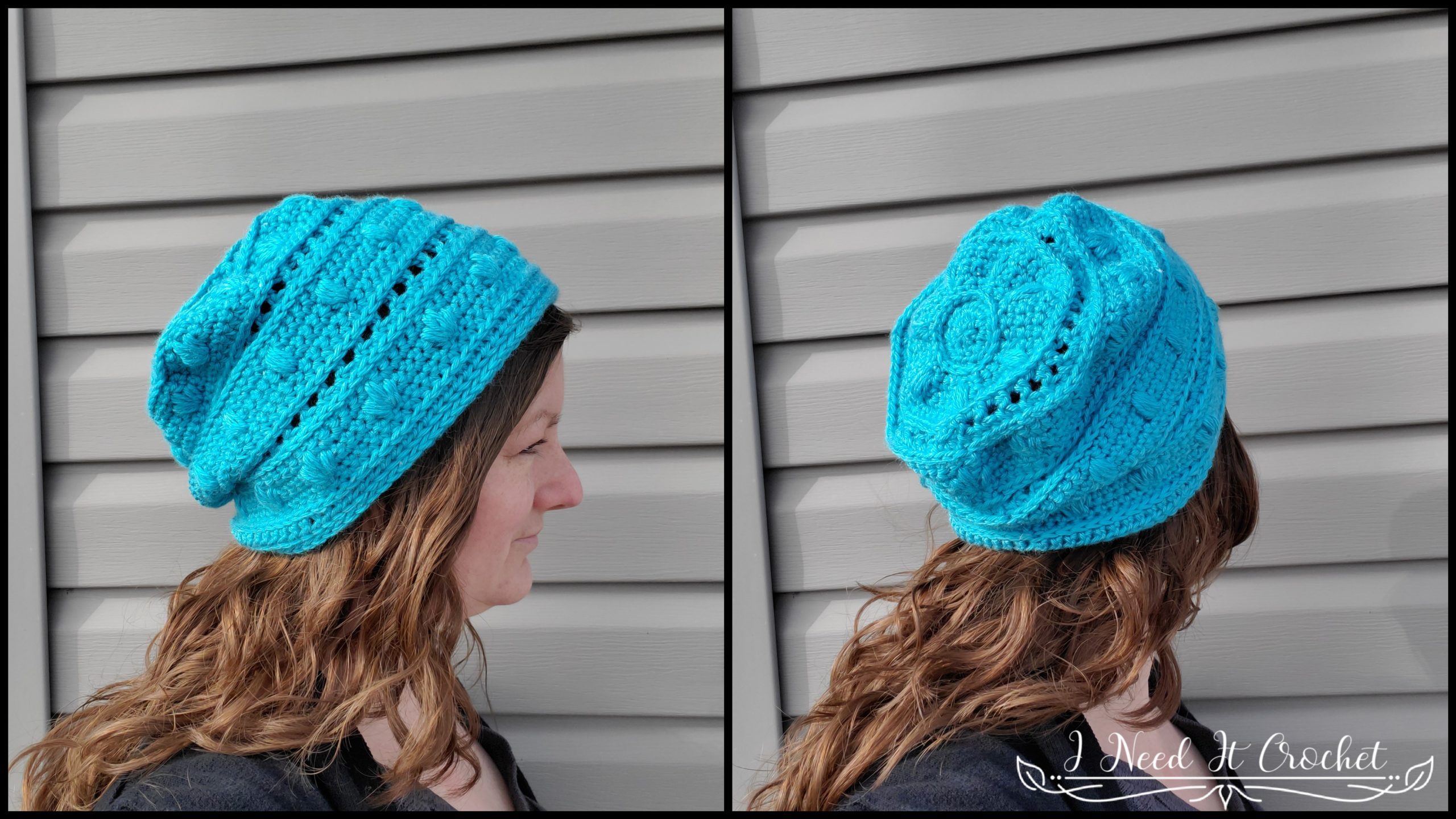 Spring Blooms Slouch - Free Crochet Pattern