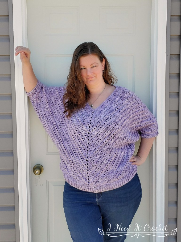 Sum Of Its Parts Pullover - Free Crochet Pattern