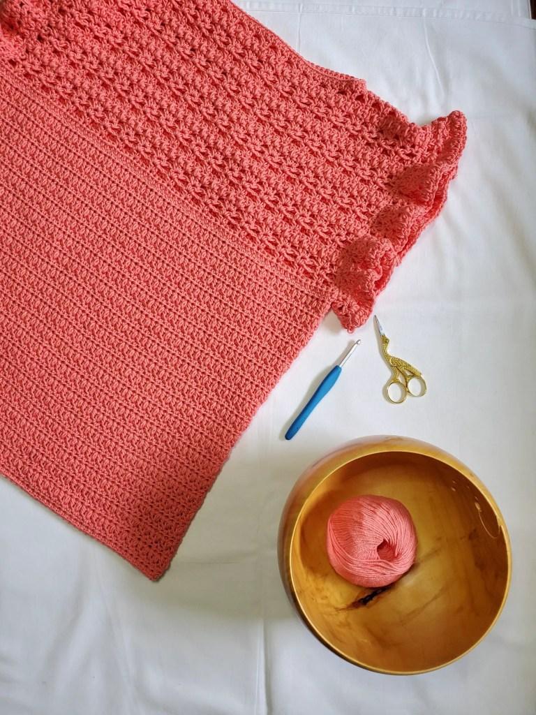 All A Flutter - Free Crochet Top Pattern