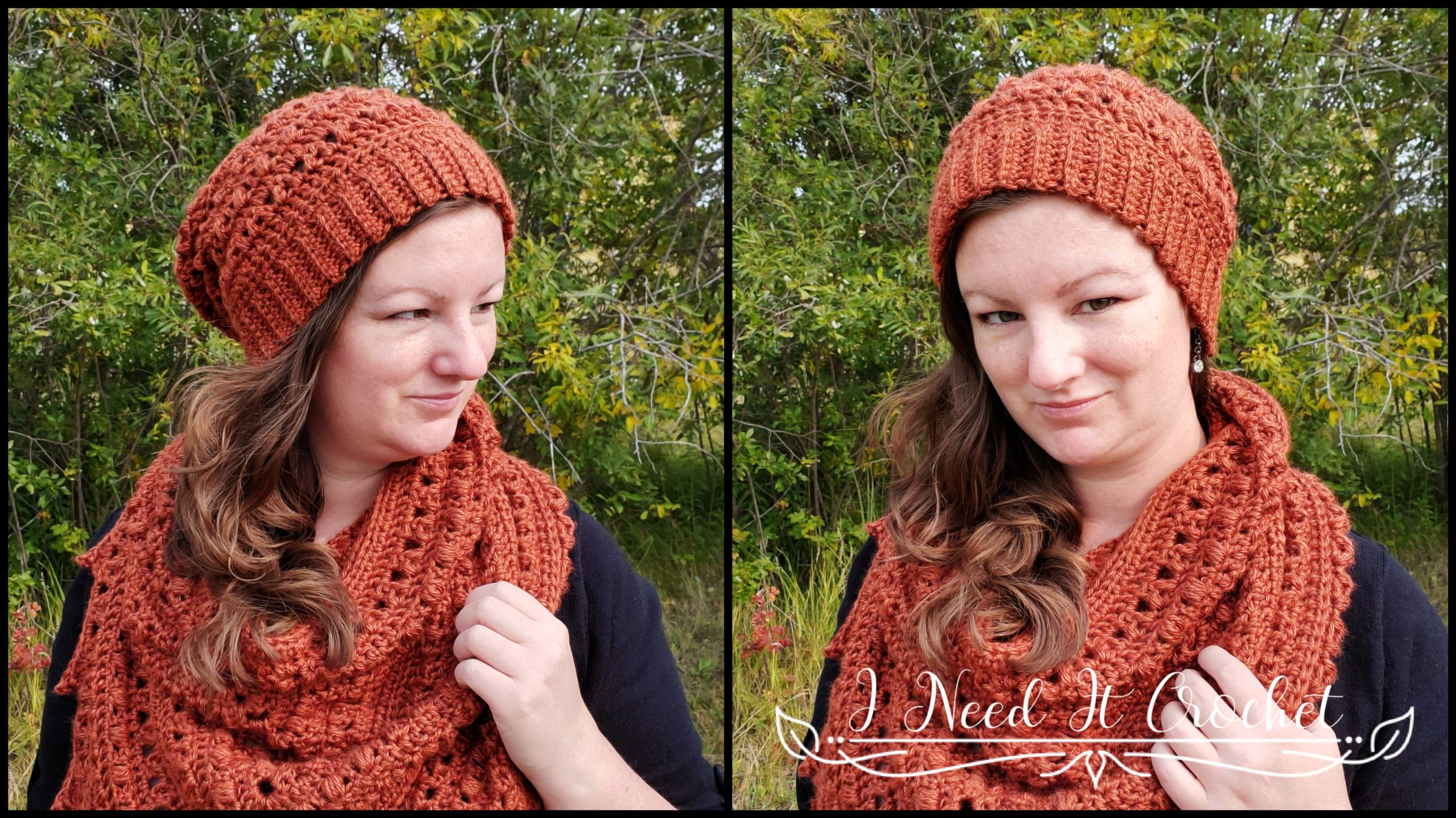 Puffs N Picots Slouch - Free Crochet Pattern