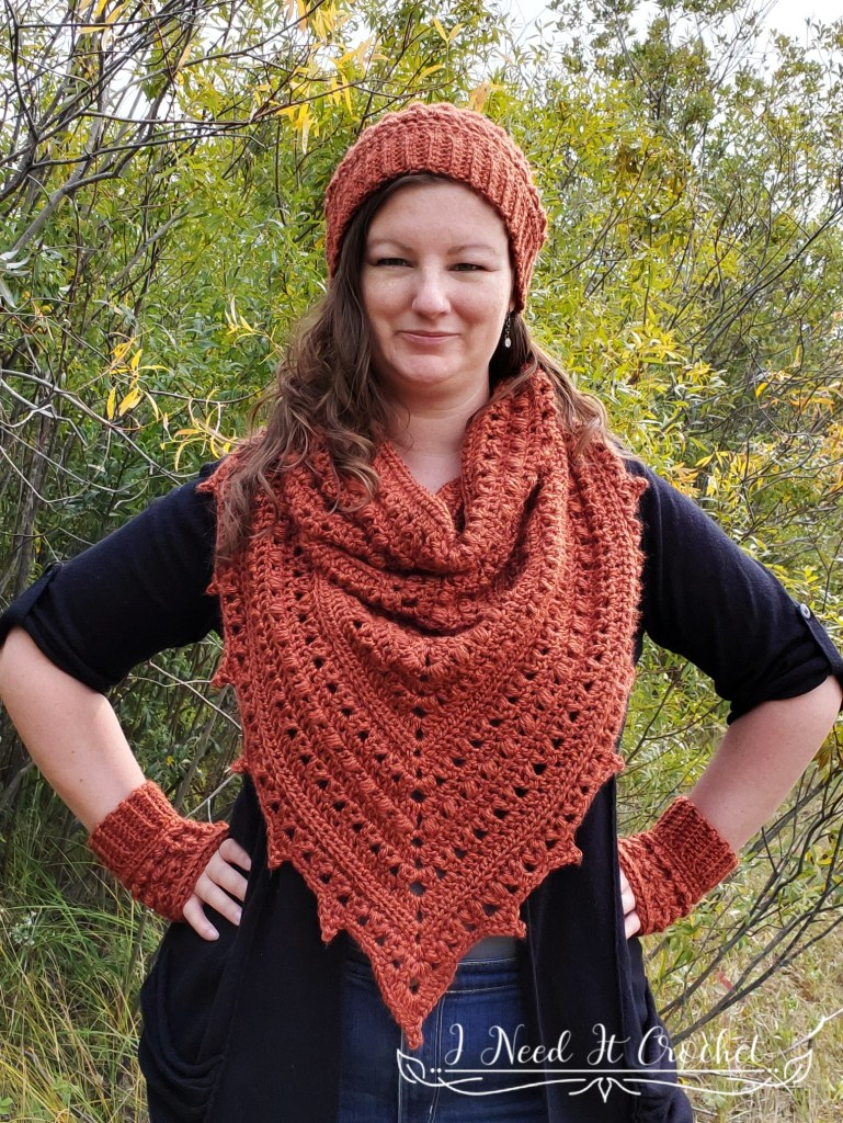 Puffs N Picots Gloves - Free Crochet Pattern