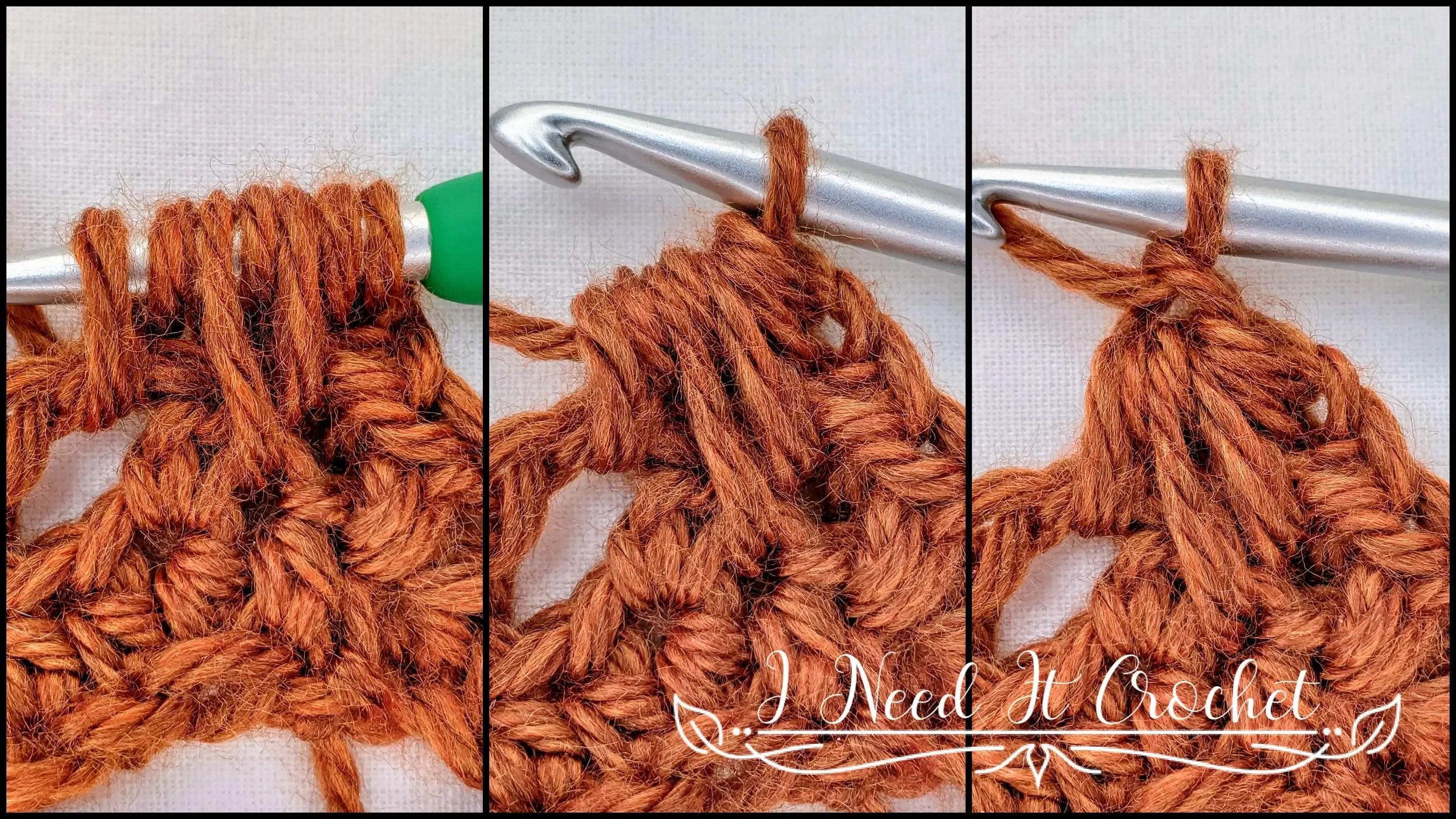The Feather Stitch - Crochet Stitch Tutorial