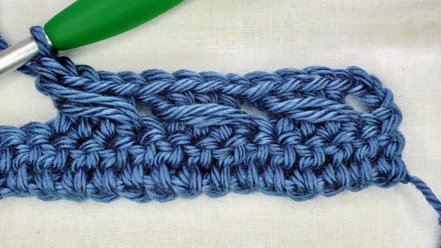 Crochet Cable Stitch Tutorial