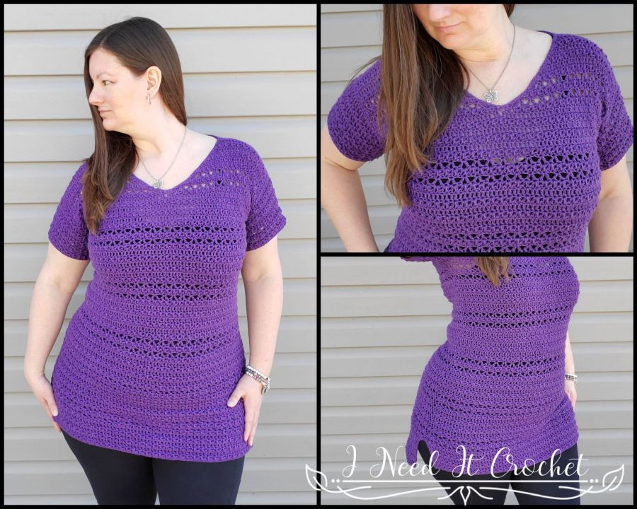 Hilo Tunic - Free Crochet Top Pattern