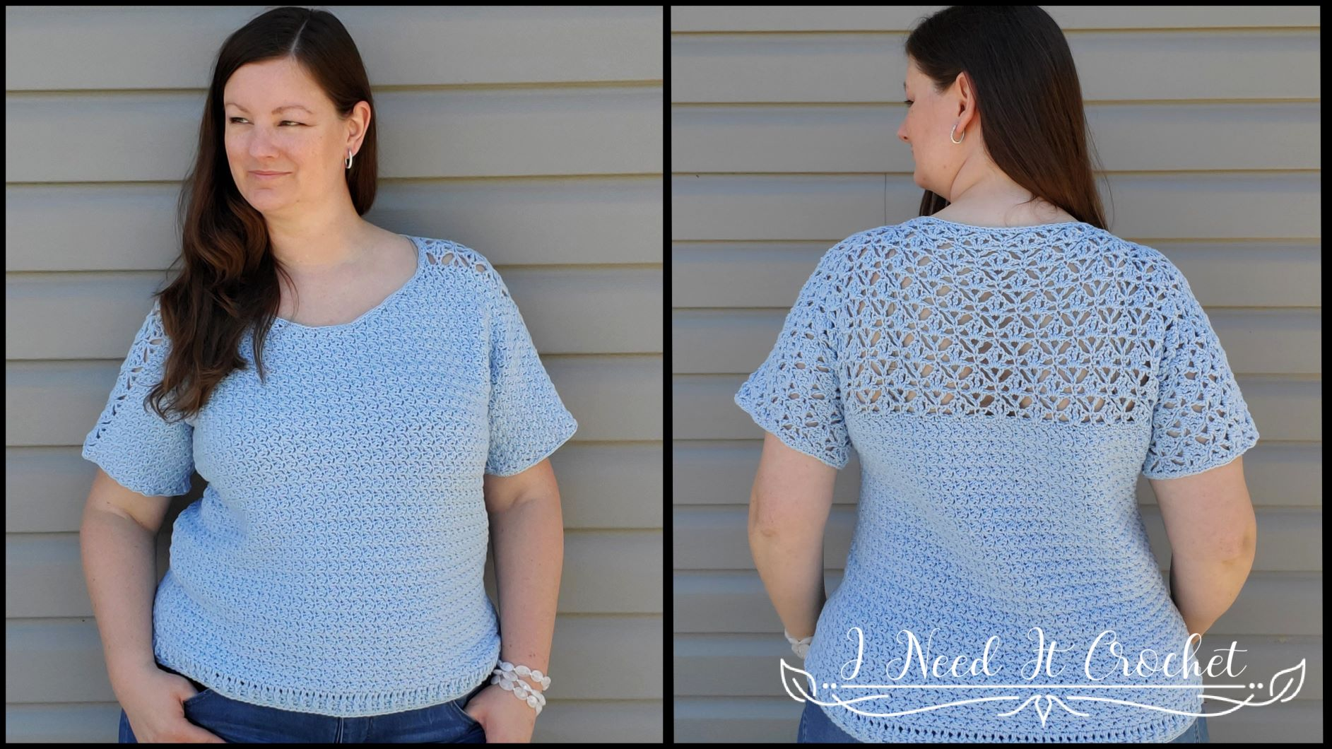 Morrigan Tee - Free Crochet Top Pattern