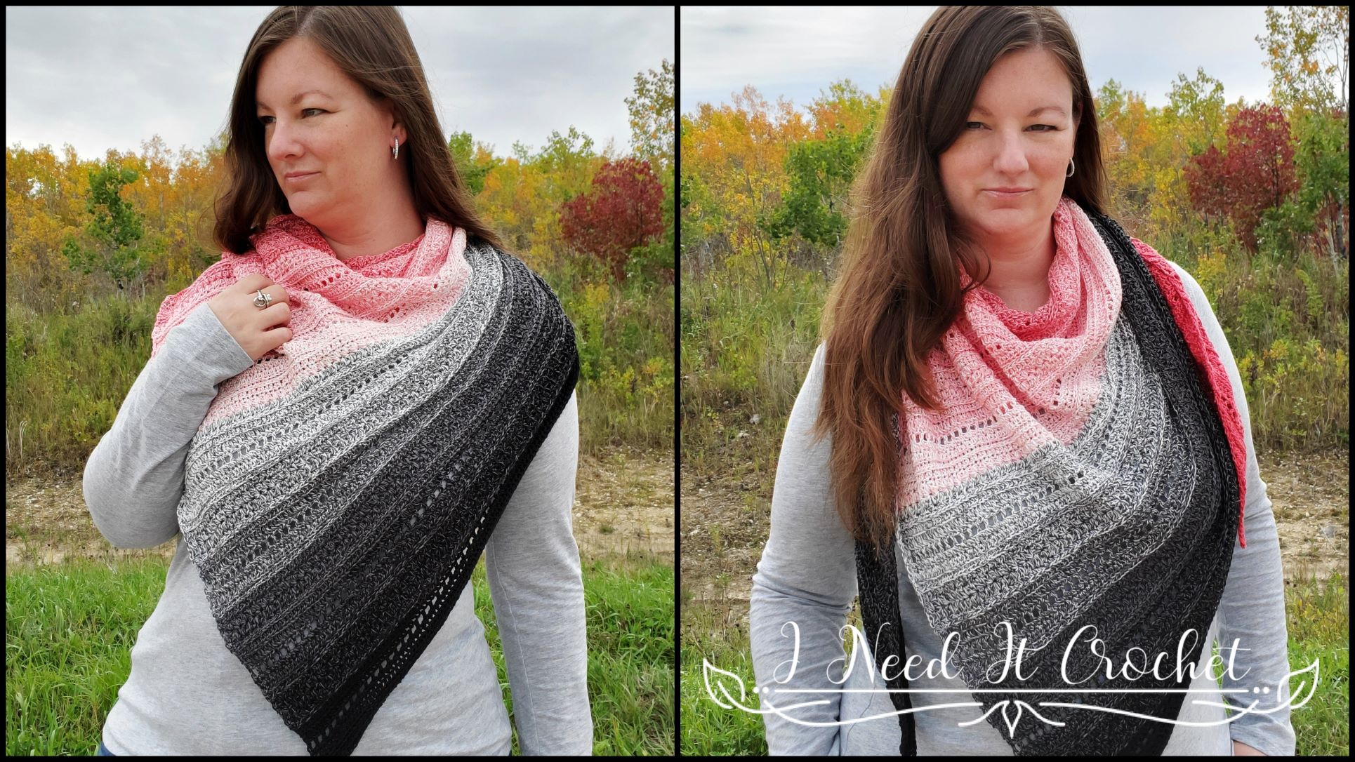 Effortless Shawl - Free Crochet Shawl Pattern