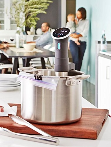 Anova Culinary Bluetooth Sous Vide Precision Cooker Anova Culinary Bluetooth Sous Vide Precision Cooker, 800 Watts, Black.
