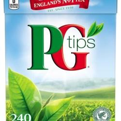 PG Tips Black Tea Pyramid Tea Bags PG Tips Black Tea Pyramid Tea Bags, 240-Count Box (Pack of 2).