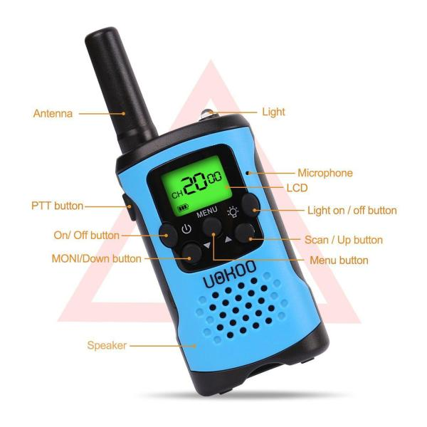 Kids Walkie Talkies Gift or 7-year Old Boys and Girls
