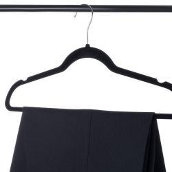Premium Velvet Hangers Heavy duty - 50 Pack Premium Velvet Hangers Heavy duty - 50 Pack Clothes Hangers - Non slip Black Suit hangers - Clothes Hanger Hook swivel 360 - Ultra Thin.