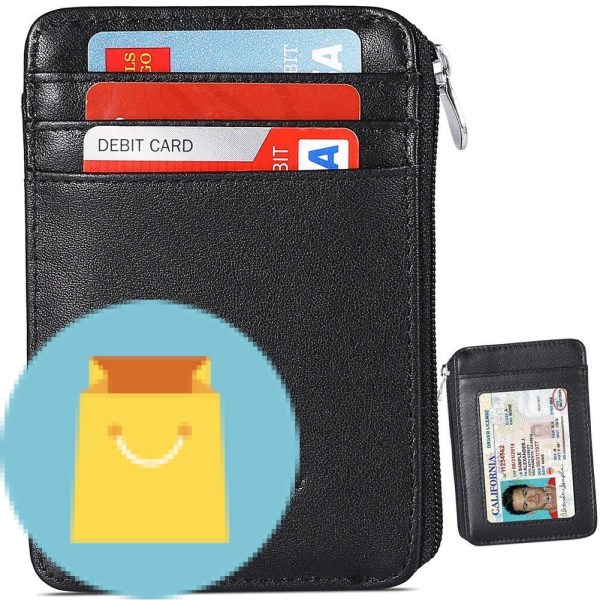 Rfid Blocking Sleeves Front Pocket Wallet for Men