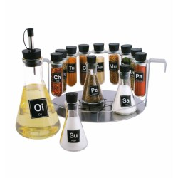 14 Piece Chemistry Spice Rack Set