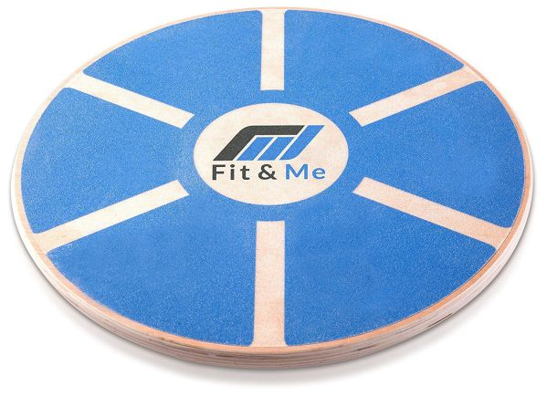 Fit&Me Wooden Wobble Balance Board Video Exercises