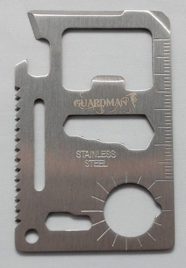 Guardman 11 in 1 Beer Opener Survival Credit Card Tool