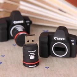 Creative Silicone Camera USB 2.0 Flash Drive 8GB
