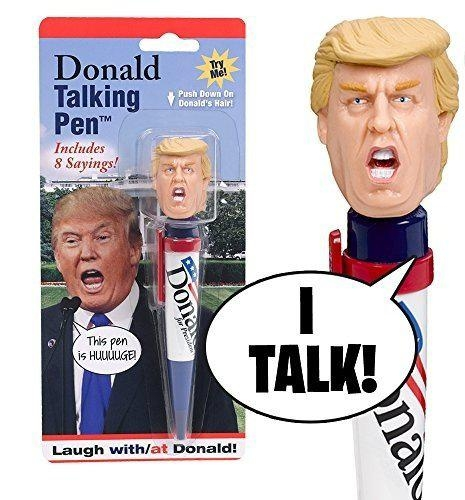 Donald Talking Pen - 8 Different Sayings