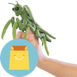 Folkmanis Mini Praying Mantis Finger Puppet