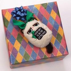 Grumpy Cat Mini Holiday Ornament