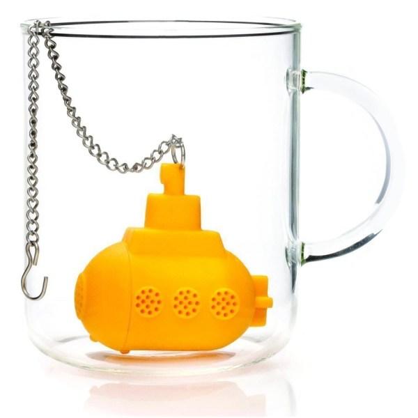 Silicone Yellow Submarine Tea Infuser