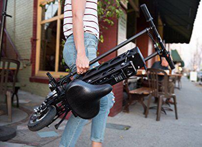 URB-E Black Label Electric Folding Scooter URB-E Black Label Electric Folding Scooter.