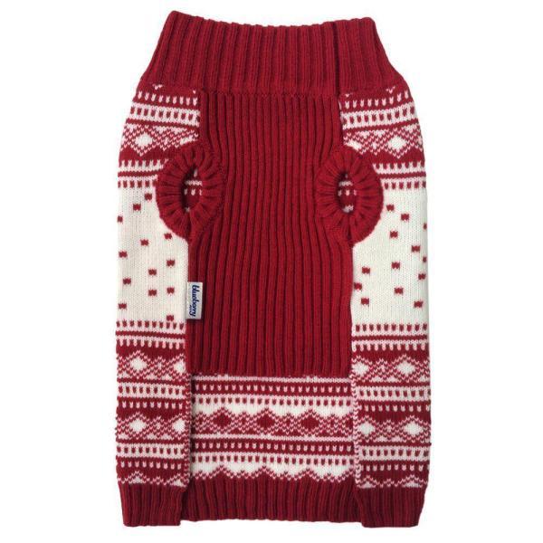 Vintage Holiday Festive Christmas Themed Dog Sweater Blueberry Pet 6 Patterns Vintage Holiday Festive Christmas Themed Dog Sweater.