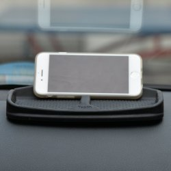 Anti-Slip Car Dash Grip Pad for Cell Phone, Keychains Anti-Slip Car Dash Grip Pad for Cell Phone, Keychains, Sun Glasses, Stand for Navigation Cell Phone.