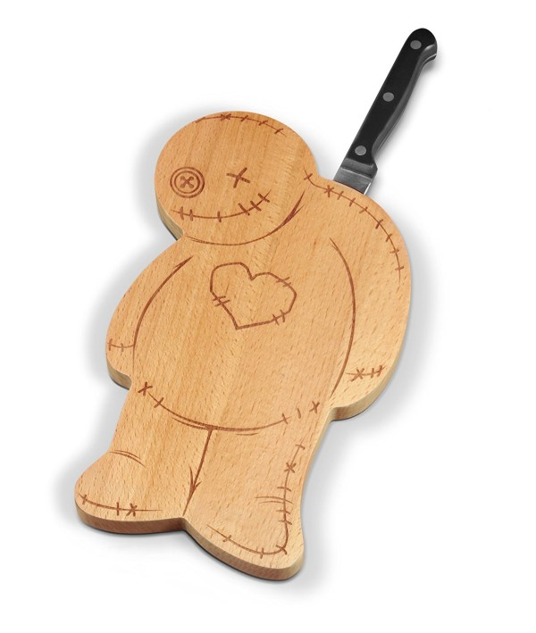 Fred OUCH! Voodoo Cutting Serving Board and Knife Set