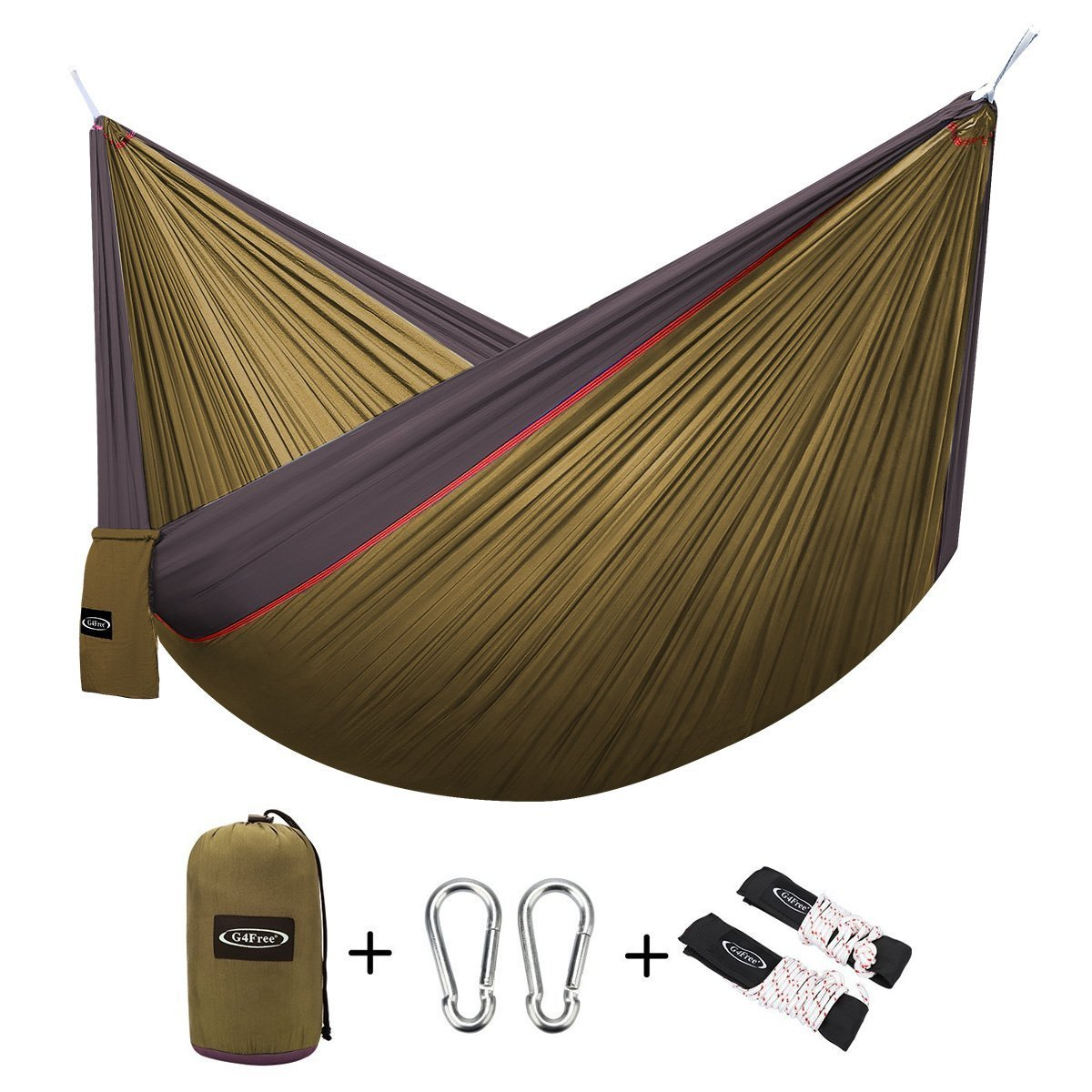 G4free Double Camping Hammock 2 Person Best Offer Reviews