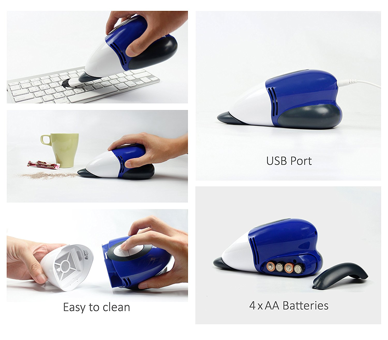 Livion Mini Desk Vacuum Cleaner Best Offer