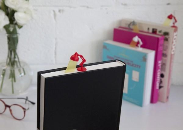 Lightmark Reading Lamp Bookmark Red Peleg Design