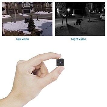 Mini Spy Hidden Camera, CHUHE 1080P Small HD Mini Body Camera