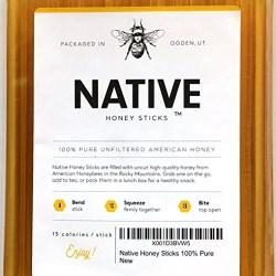 Native Honey Sticks
