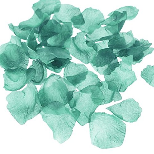 300-Piece Faux Rose Petals Aisle Confetti Table Scatter