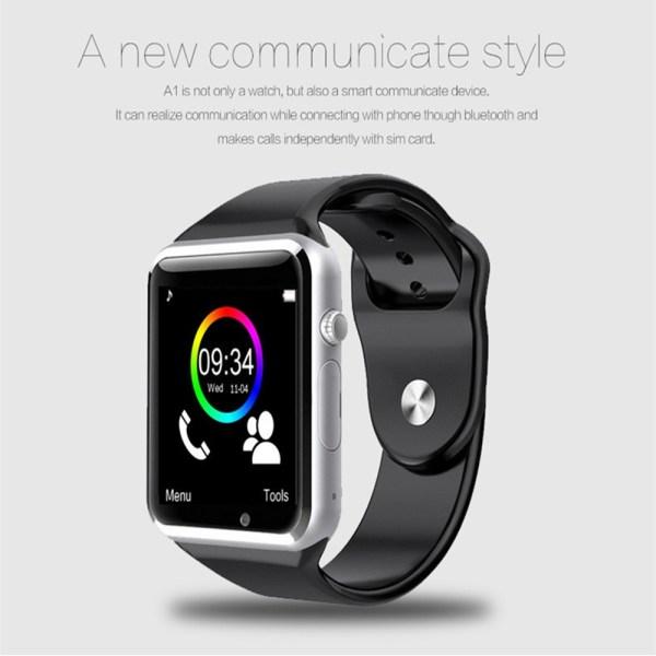 A1 WristWatch Bluetooth Smartwatch