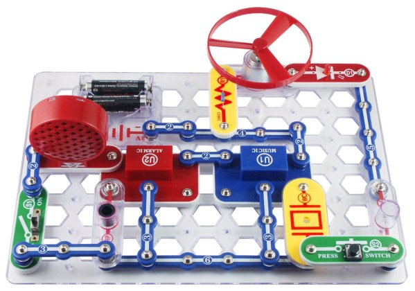 Electronics Discovery Kit Snap Circuits Jr. SC-100 Electronics Discovery Kit.