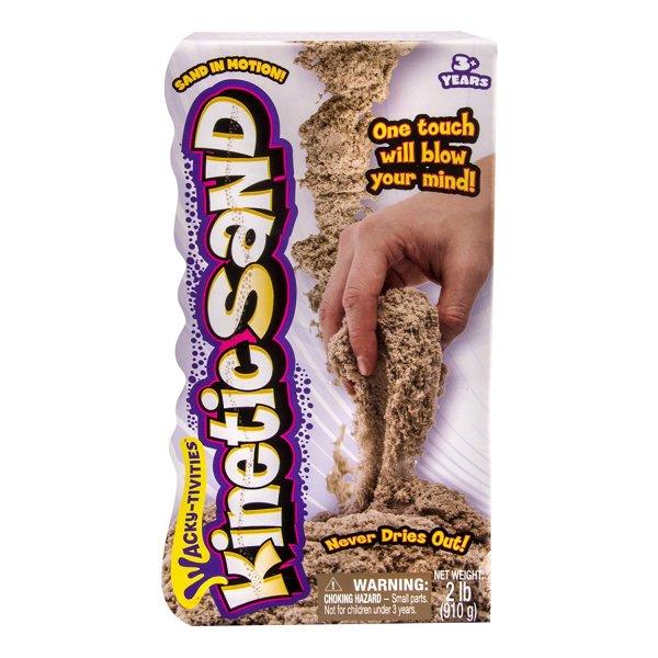 Kinetic Sand 2 pound Brown Kinetic Sand 2 pound Brown.