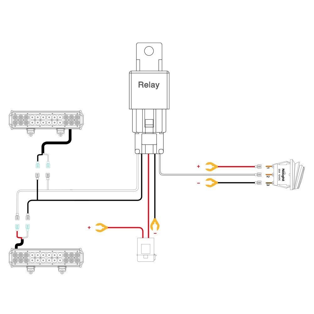 Nilight LED Light Bar Wiring Harness Kit 12V 5?resize=250%2C250&ssl=1 nilight led light bar wiring harness kit 12v on off switch best offer