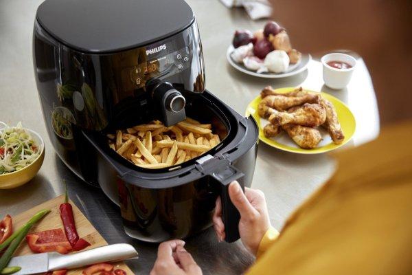 Philips Airfryer, Avance Digital TurboStar, Fry Healthy