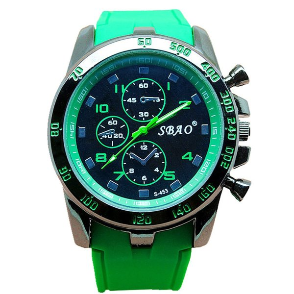 SBAO Modern Men Fashion Wrist Watch Green