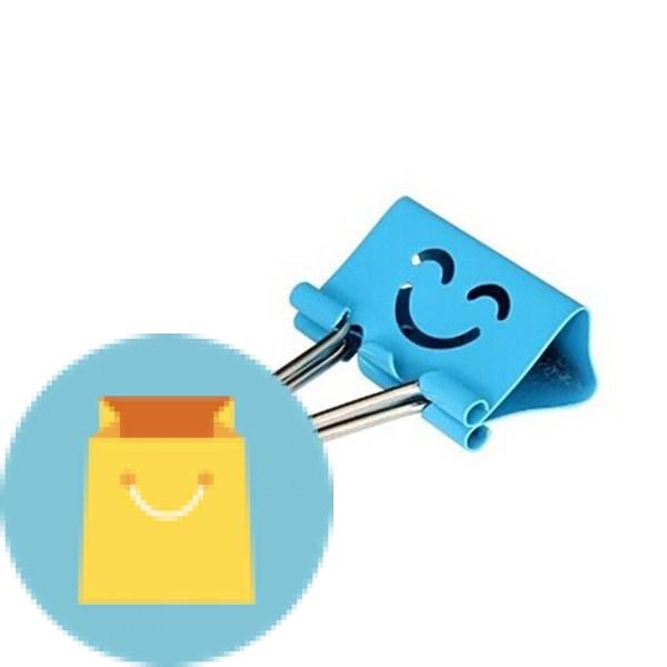 Smiling Binder Clips