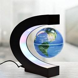 Magnetic Levitation Floating Globe World Map with LED Lights
