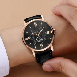 YAZOLE Brand Rose Gold Quartz Watch Women