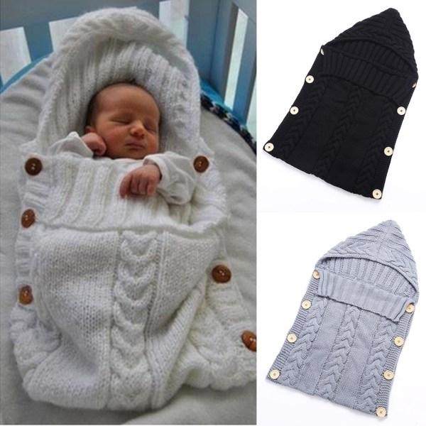 Newborn Baby Sleeping Bag Winter Warm Wool