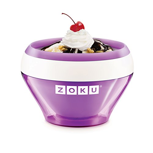 Zoku Purple Ice Cream Maker, Instant Ice Cream Maker