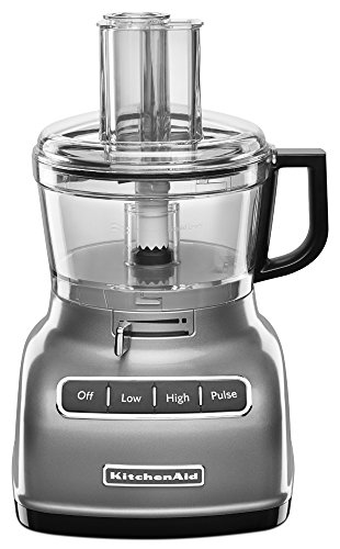KitchenAid 7-Cup Food Processor with Exact Slice System - Contour Silver